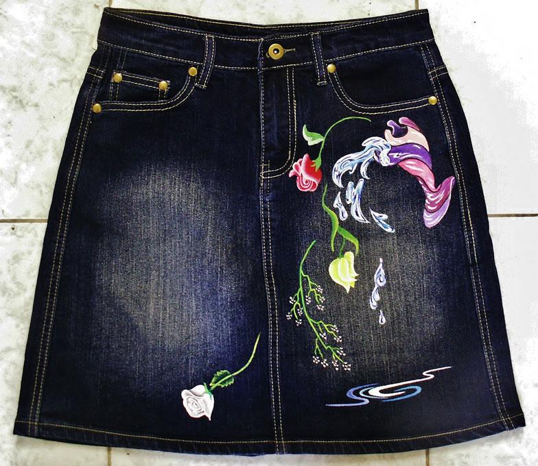 9217d015bd7a Ζωγραφική σε ρούχα και αξεσουάρ | Χειροποίητα | artflou.gr